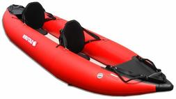 Saturn 13 Ocean Inflatable Fishing Kayak - Green