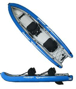 Aquaglide Rogue XP Two Inflatable Kayak-Blue/White