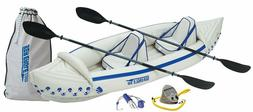 SEA EAGLE SE330 Professional 2 Person Inflatable Sport Kayak