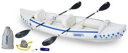 Sea Eagle SE370 Deluxe Inflatable Sports Kayak Inexpensive &