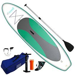 Serene-Life SLSUPB20 10 FT Inflatable Stand Up Paddle Board