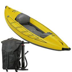Star Inflatable VIper Self-Bailing Whitewater Kayak from NRS