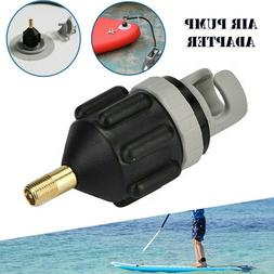 Sup Inflatable Boat Air Valve Compressor Pump Adapter Paddle