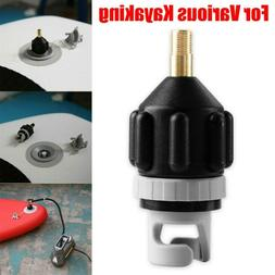 Sup Pump Adapter Inflatable Boat Air Valve Adaptor Paddle Bo