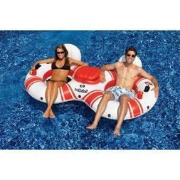 Solstice SuperChill Tube Duo Pool Float for Swimming Pools O