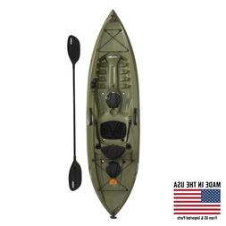 Lifetime Tamarack Angler 100 Fishing Kayak With Paddle Outdo