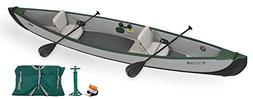 Sea Eagle TC16 Inflatable Travel Canoe Start Up Package