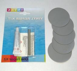 Thick Heavy Duty Vinyl Repair Patch+Glue: Inflatables Boat R