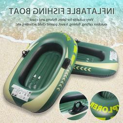 Thickened 1/2 Person Inflatable Boat Fishing Boat PVC Kayak