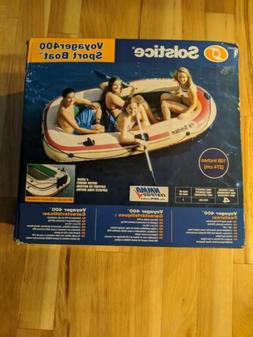 Solstice Voyager 400 4 Person Inflatable Floating Boat Raft