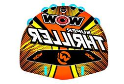 WoW Watersports 18-1020 Super Thriller Deck Tube, 1 to 3 Per