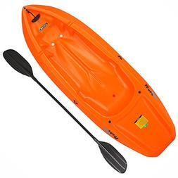 wave orange kayak