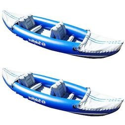 Solstice Whitewater Rapids Rogue 2-Person Convertible Inflat