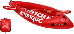 SUPREME x Advanced Elements Packlite Kayak Red box logo camp