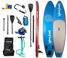 "Aquaplanet 10ft 6"" x 15cm PACE Stand Up Paddleboard - Incl:"