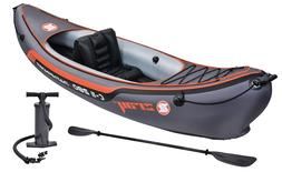 """Z-Ray Pathfinder C-II 280 1 Person Inflatable Kayak 9'2"""" wit"""